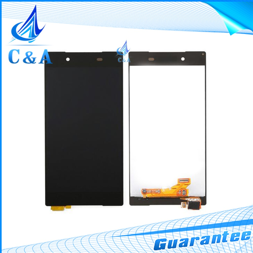 5 pcs DHL/EMS shipping black white new for Sony for Xperia Z5 lcd display E6603 E6633 E6653 E6683 screen with touch digitizer