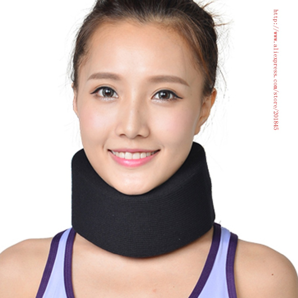 Hot Healthsweet Useful Comfy Cervical Collar Firm Foam Neck Traction Shoulder Headche Brace Support Pillow For Pain Relief good gift for your family home use over door cervical traction set for fast and easy to relieve neck shoulder pain