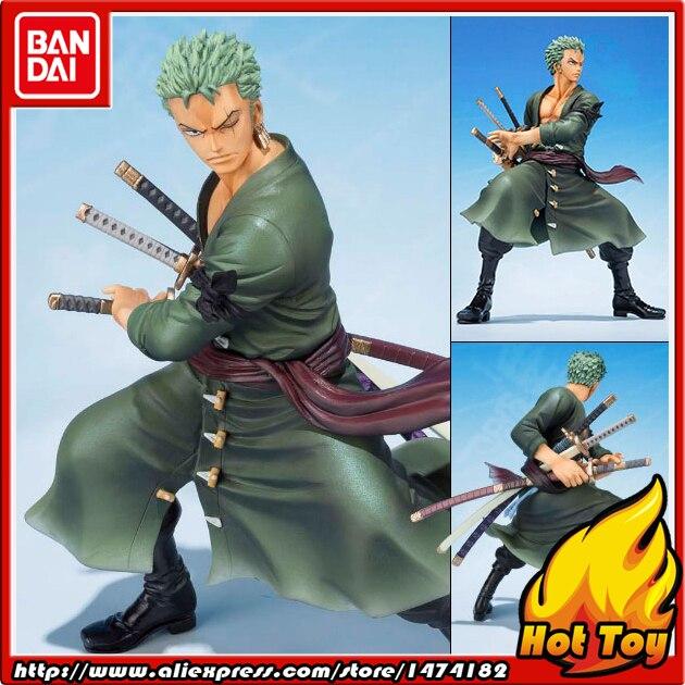 100 Original BANDAI Tamashii Nations Figuarts ZERO Action Figure Roronoa Zoro 5th Anniversary Edition from ONE
