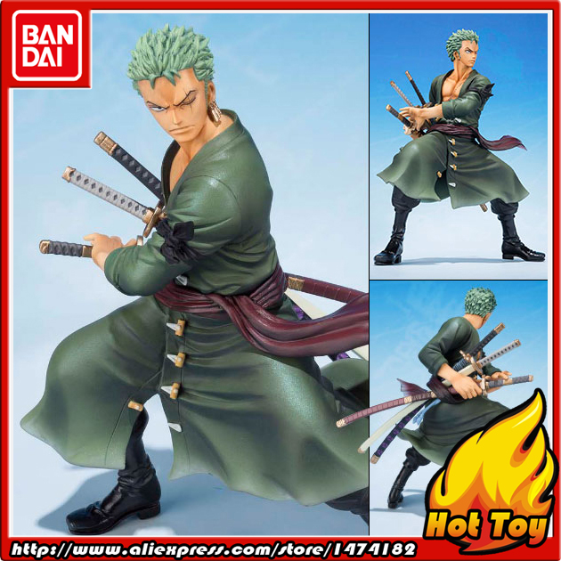 100% Original BANDAI Tamashii Nations Figuarts ZERO Action Figure - Roronoa Zoro -5th Anniversary Edition- from ONE PIECE japanese anime original bandai figuarts zero one piece 5th anniversary edition monkey d luffy