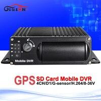 Free Shipping Car Mobile Dvr Built In GPS Moduel Sd Mdvr G Sensor Cyclic Recording Motion