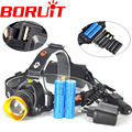 Rechargeable USB T6 LED Headlamp Headlight LED Head Light Lamp 2300 Lumen 3Modes for Bicycel by 3*AAA /3*AA /2*18650