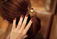 минимальный. заказ 10 $ ювелирные изделия, моль сторона цветок смолаы для волос были аксессуары для волос e0106136 6 г
