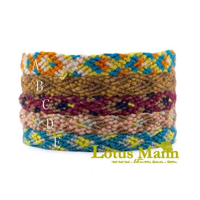 Lotusmann стиль обёрточная Бумага браслет с хорошей качественная Обертка Браслет на коже