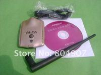 DHL и бесплатная доставка с USB-адаптер WiFi на альфа 10 г 54 bit Интерфейс USB 2.0 беспроводной доступ в интернет, беспроводная сеть омни Сэм 6 дби антенну
