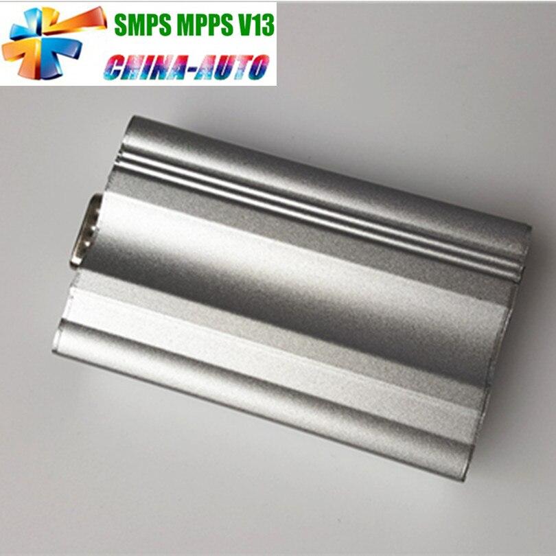 2018 Новое поступление Metal Box чип-тюнинг SMPS MPPS V13 EDC16 может flasher + качество MPPS V13 с несколькими язык