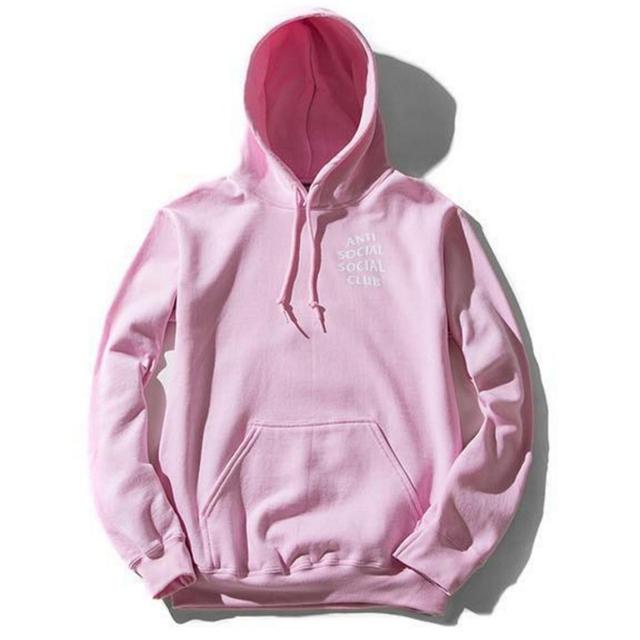 ANTI SOCIAL CLUB Men Sweatshirts 2017 Spring Fashion Hooded Hip Hop Style Streetwear 216 Tracksuit Fleece  Brand Clothing