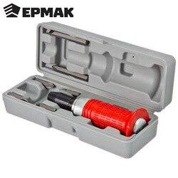 Отвертка ERMAK ударная 160 мм 6 насадок пластиковый бокс