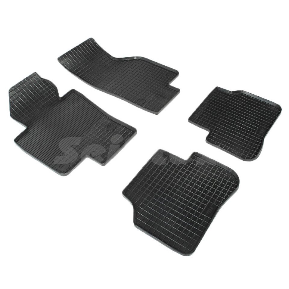 For Volkswagen Passat CC 2008-2018 rubber grid floor mats into saloon 4 pcs/set Seintex 00388 for mazda 6 2002 2008 rubber grid floor mats into saloon 4 pcs set seintex 00194