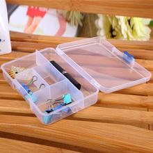 Portable Plastic Fishing Lure Bait Box Fishing Tool Storage Pills Jewelry Organizer Container Case 5 Grids Tackle Box #555