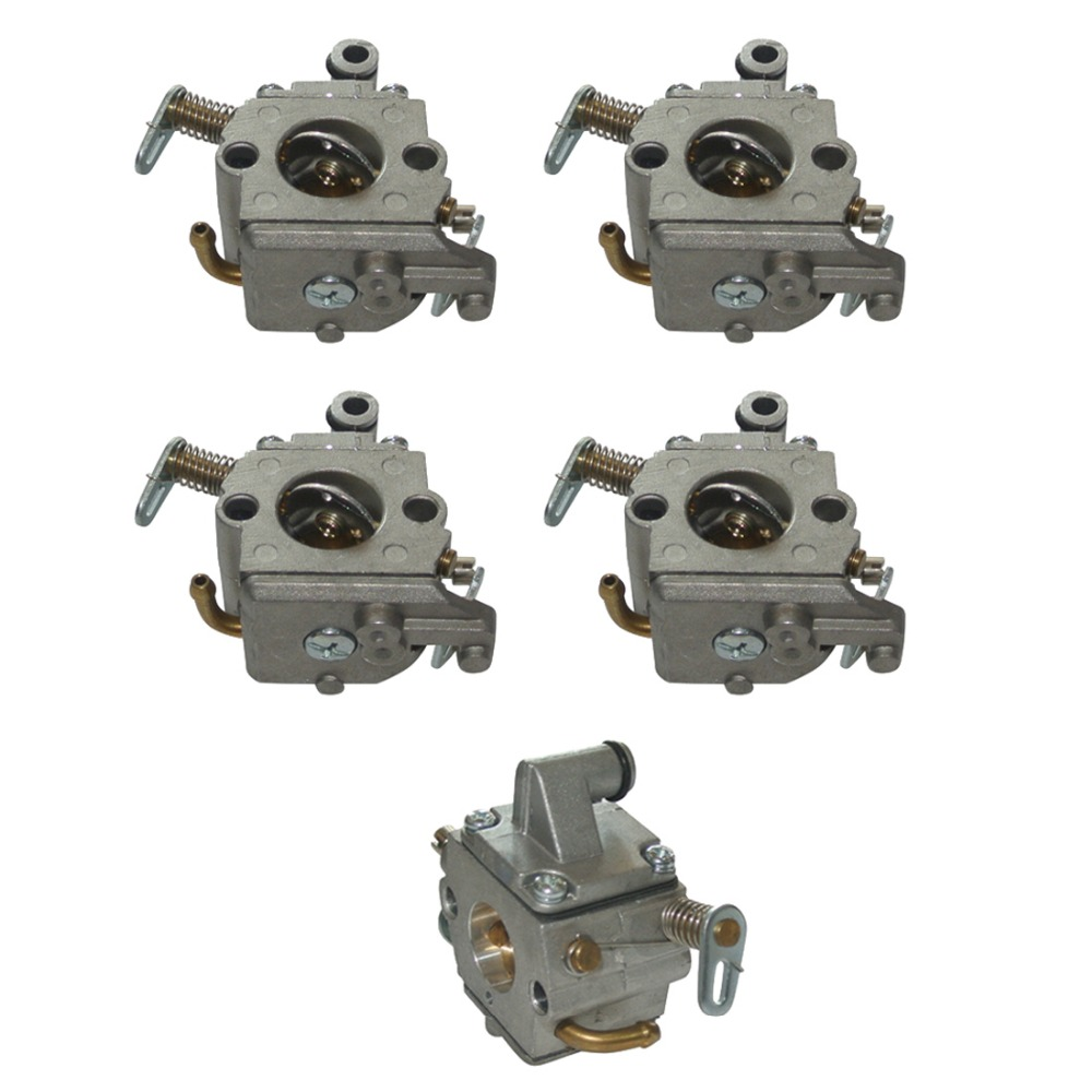 где купить 5pcs a lot Carburetor Carby For STIHL 017 018 MS170 MS180 MS 170 180 Chainsaw Carb по лучшей цене