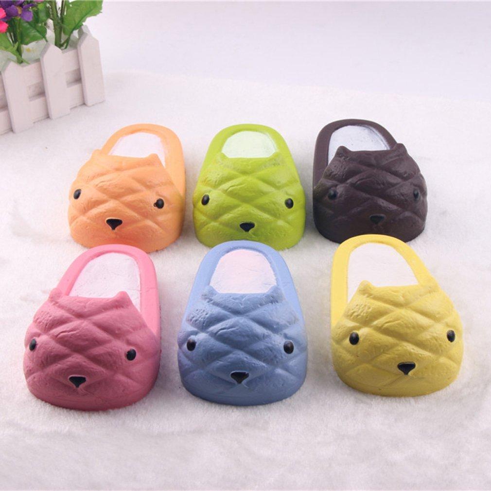 Squishy Toys Big W : Jumbo Squishy Slow Rising Kapibarasan Slipper 14cm Kawaii Soft Squeeze Cute Phone Straps Bread ...