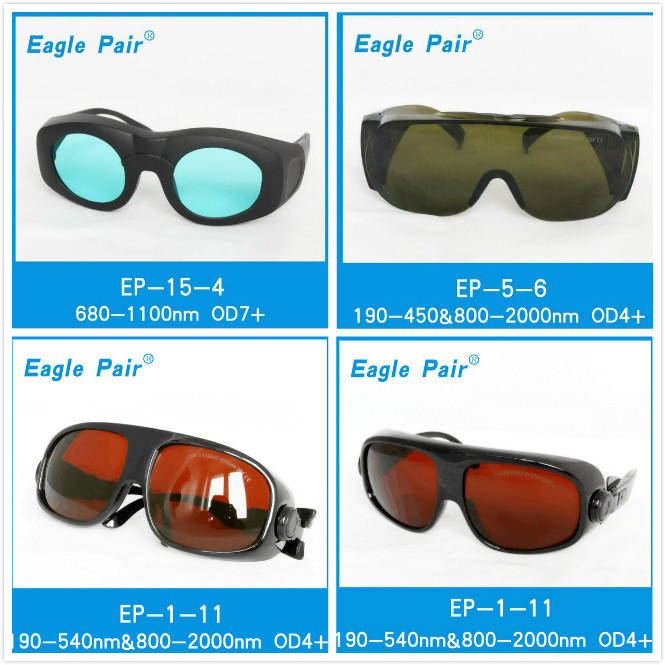 OD 4+   filter  long spectrum wavelength glasses  protective goggles