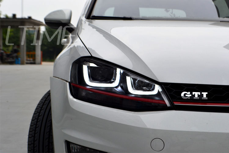 led drl Picture  More Detailed Picture about For VW Golf 7 Golf7