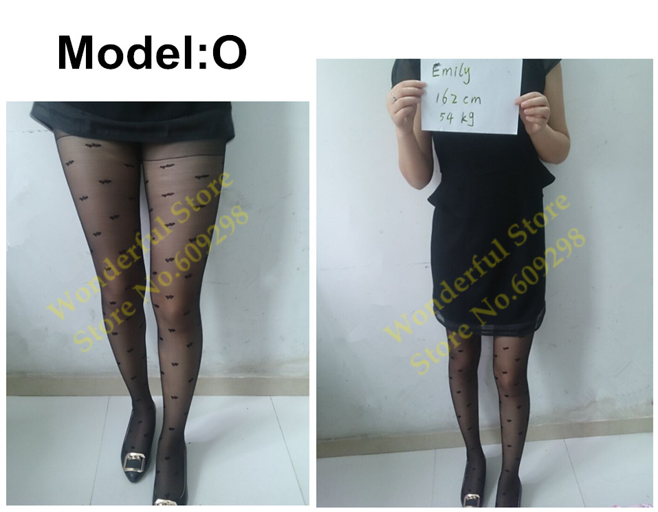 Sexy Pantyhose Tights Women Female Stockings Fashion Thin Sheer Long for Spring Fall Multi Pattern Free Shipping (13)