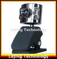 бесплатная доставка, веб-камера, веб-камера, пк веб-камера с USB быстро, 6led от пк портативный ноутбук камеры 20 м pixel