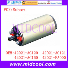 New Electric Fuel Pump use OE NO. 42021-AC120 , 42021-AC121 , 42021-AC160 , 42021-FA000