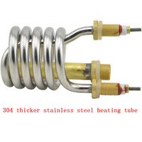Electric Faucet 3000w Heating Pipe 304 Stainless Steel Heating Pipe Electric Element Water Heater Instant Hot