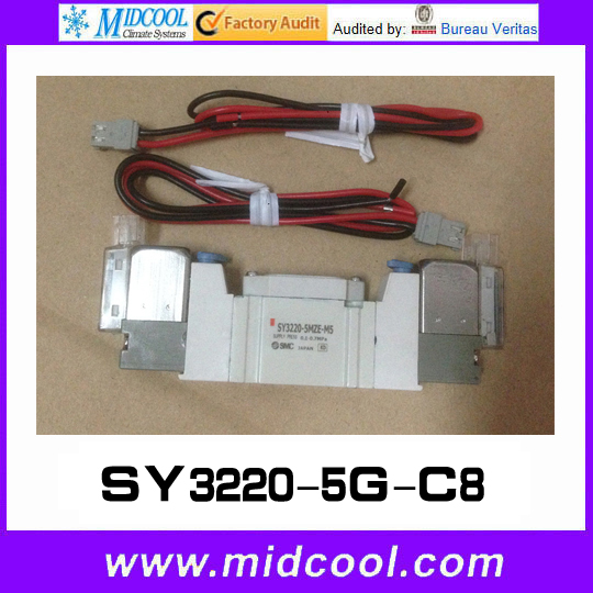 5 way pilot solenoid valve SY3220-5G-C8 sy7420 6gd c8 solenoid valve