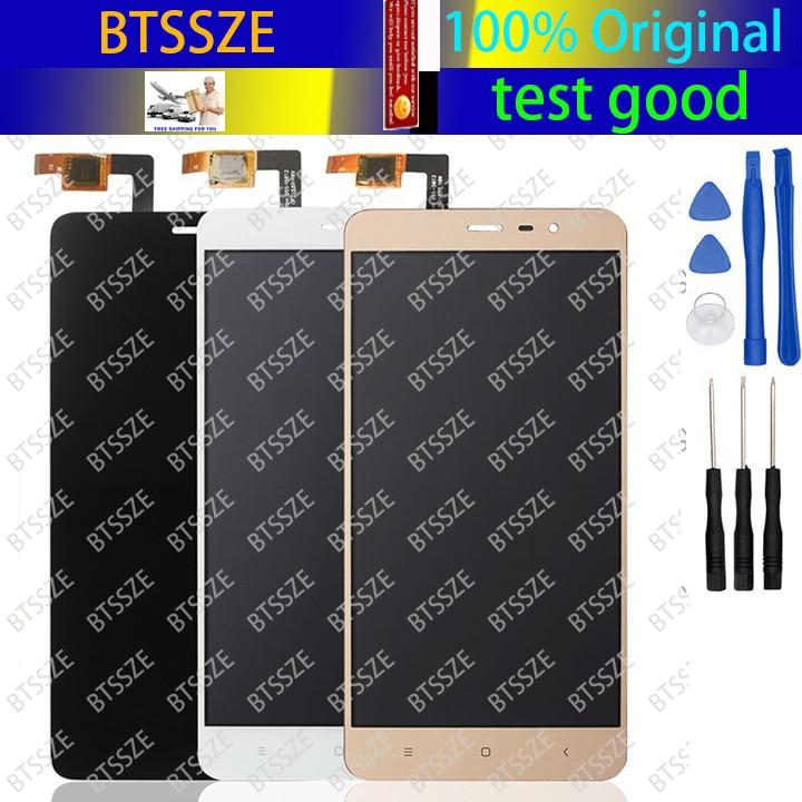 цена  xiaomi redmi note 3 / note 3 pro  LCD + Touch screen assembly whiteblackgold panel glass sensor for hongmi note3 pro + tools  онлайн в 2017 году