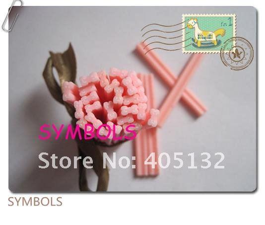 F-05 100 шт. 5 мм светло-розовый лук Полимерная глина Кейн Необычные Дизайн ногтей Полимерная глина Кейн