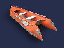 GTK370 Goethe надувной рыбацкий Каяк Лодка гребная лодка резиновая лодка
