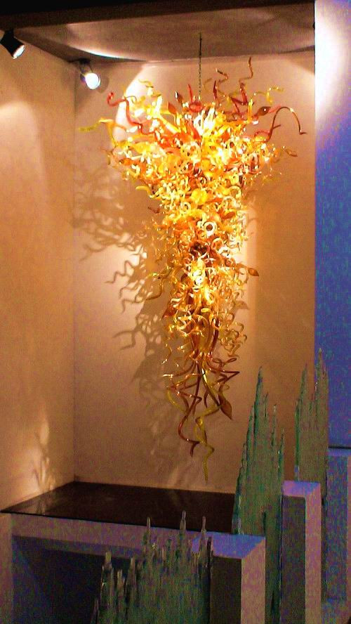 New Arrival Murano Glass Glod Mouth Blown Crystal Chandelier Home Decorative Furniture