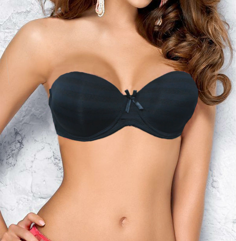 9887d6968b7f0 New Smooth Multiway Strapless Convertible Clear Back Strap Contour Plunge  Push up Bra 34 36 38 40 B C D Wholesales-in Bras from Underwear    Sleepwears on ...