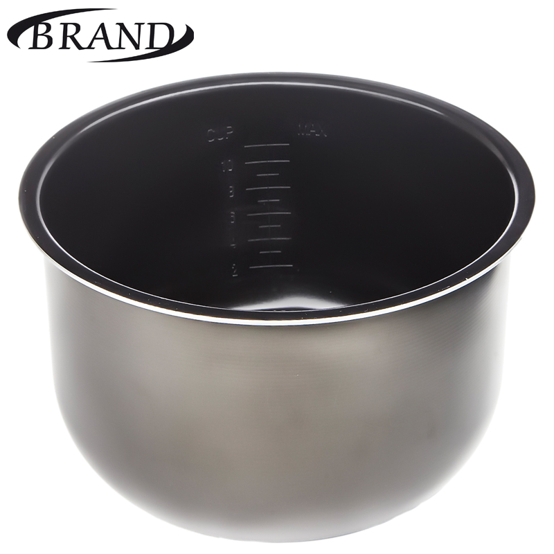 Inner pot 37500/37502/502 bowl pan for multivarka, 5L, non stick coating, measure scale toaks ckw 1600 1600ml titanium pot with pan