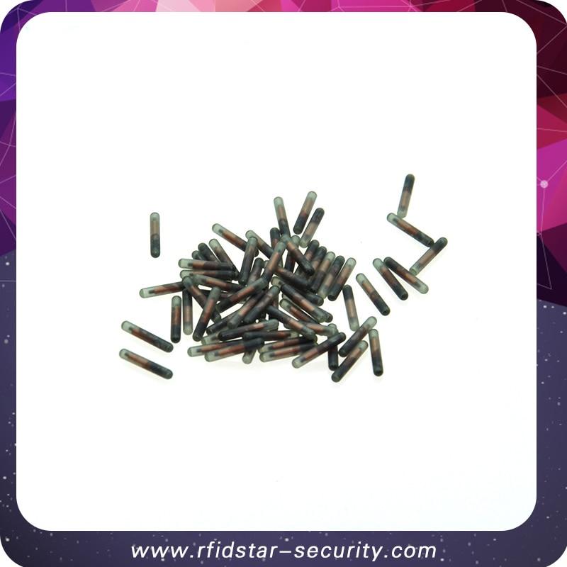 50PCS/Lot ICAR 1.4*8mm 134.2KHz RFID Glass microchip FDX-B EM4305 animal Glass tube tag 50pcs lot [50pieces lot] hd7406p dip14