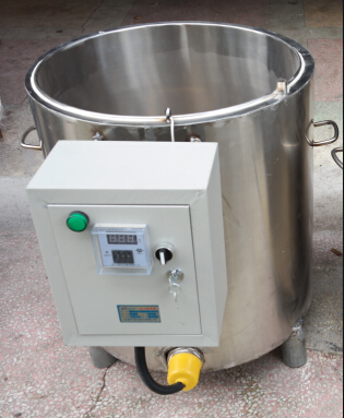 50kg /hour wax tempering machine /wax warm machine on sale for candle or beeswax sheet