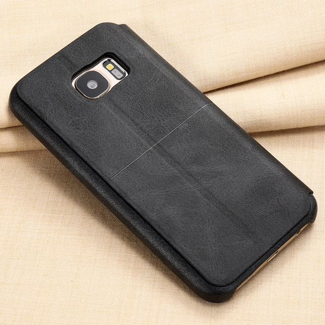 X-Level Leather Phone Case For Samsung Galaxy S7 S7 edge