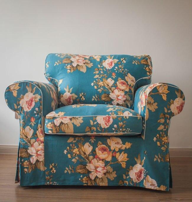 IKEA EKTORP Armchair sofa cover Different colors Custom made