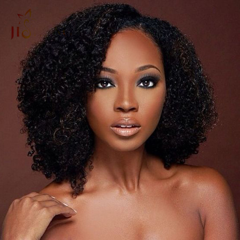 Best Mongolian Kinky Curly Weave Human Hair Soft Wet And