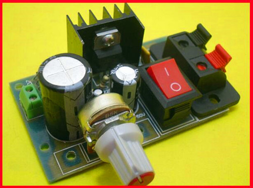 Free Shipping!!! electronic  Import module LM317 adjustable adjustable power supply board / AC and DC inputFree Shipping!!! electronic  Import module LM317 adjustable adjustable power supply board / AC and DC input