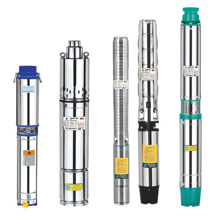 100QJD2-35/6-0.37 deep well submersible water pump exported to 58 countries deep well submersible pump 2 inch outlet