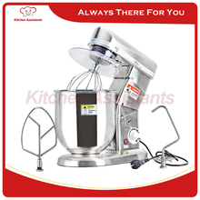 Home use or commercial use 5,7, 10 Liters electric stand food mixer, planetary cooking mixer, egg beater, dough mixer machine