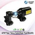 Letop impressora solvente meios automáticos ocupam sistema 38mm único receptor/rolo de papel