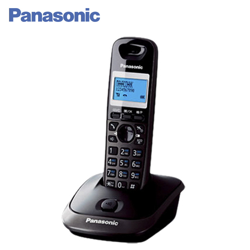 Panasonic KX-TG2511RUT DECT phone, digital cordless telephone, wireless phone System Home Telephone. free shipping brand new 7 inch color home video intercom door phone system 3 white monitors 1 doorbell camera in stock wholesale