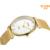 Eyki Marca de Luxo Da Moda Casal Mesa Moda Movimento Japão Impermeável Cinto de Tecido de Malha de Aço Inoxidável Relógio de Quartzo Vestido Relógio