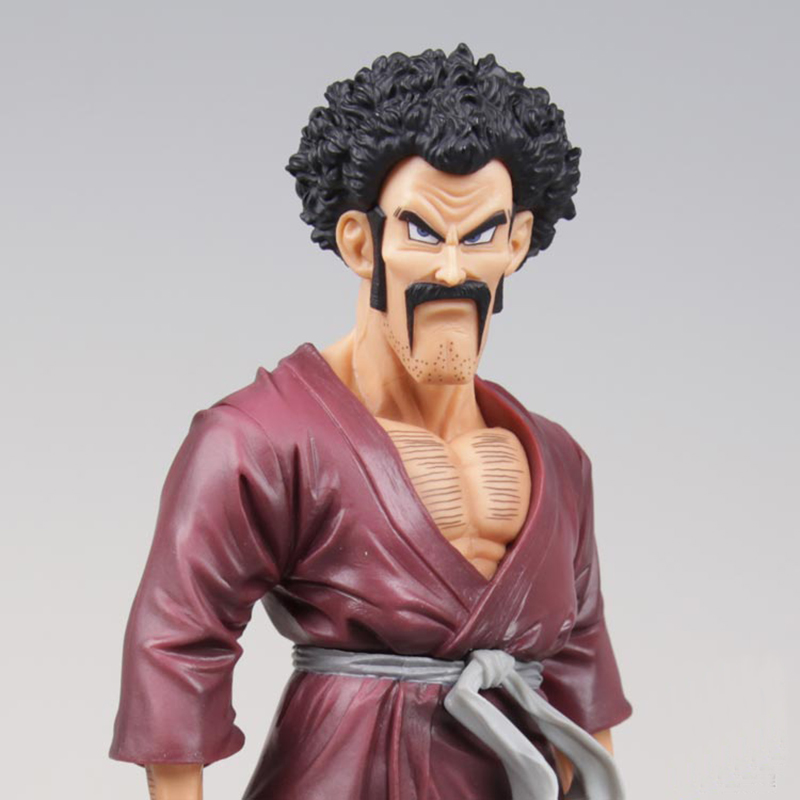 Anime Dragon Ball Z Super Mr.Satan Resolution of Soldiers Action Figure Juguetes DragonBall Hercule Collection Model Toys 19cm elegant short silky straight bob style synthetic full bang assorted color cosplay wig for women