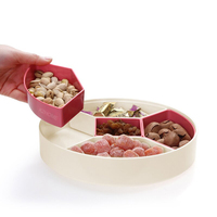 Multipurpose High Capacity Removeable Food Grade Fruit Rack Bowl Nut Candy Plate