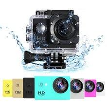 Gopro Style Action Camera 1080P Full HD 30M Waterproof Mini Camera 1920×1080 Outdoor Sport Cam Motorcycle Helmet Sport Camera