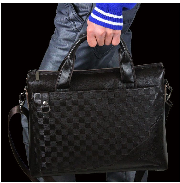 Free Shipping Leather Messenger Bag Designer Bags Men Genuine For