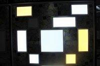 1 шт./лот 25 вт 1200 лм из светодиодов панель, 300 * 600 мм 85 ~ 265 в из светодиодов фары с CE и сертификат RoHS теплый белый / белый цвет