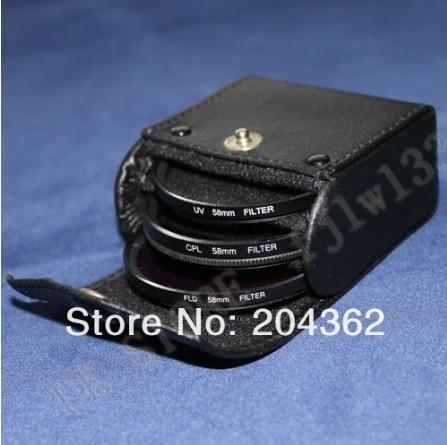 100% אחריות 6 ב1 67mm uv+cpl +חקירות פנים מסנן+מכסה עדשה+עדשה עבור CANON EOS 7D 50D 5D 60D T3I 18-200MM