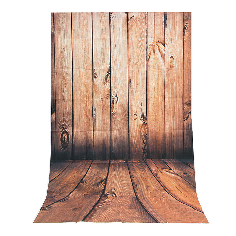 3x5FT Wood wall Floor Vinyl Photography Background For Studio Photo Props Photographic Backdrops cloth 0.9 x 1.5M custom vinyl cloth print 3 d blue wood wall floor photo studio backgrounds for portrait photography backdrops props s 2341