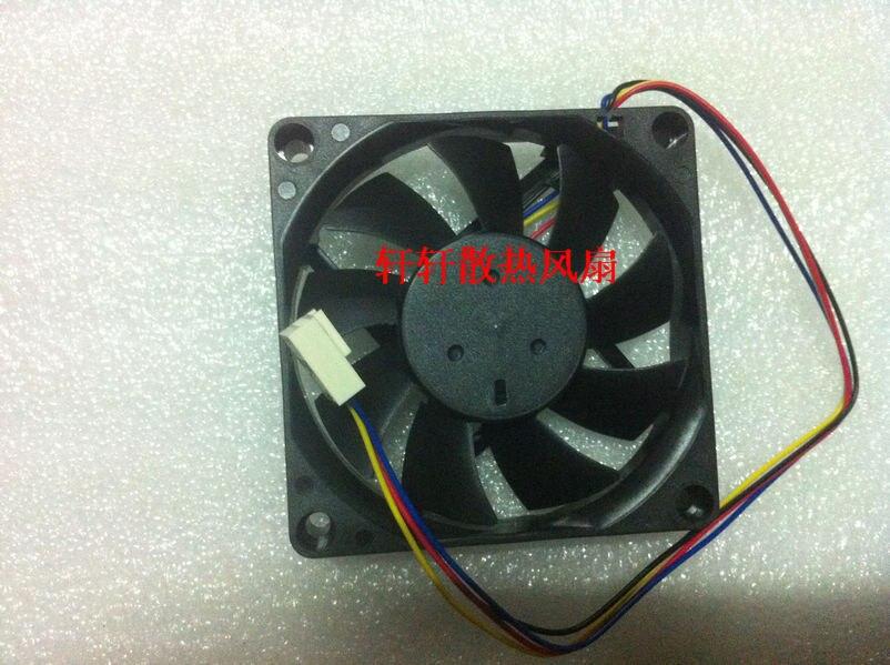 Wholesale AVC DS07015R12L 7CM 7015 12V 0.30A CPU 4 line 4-pin pwm tempreture controller cooling fans