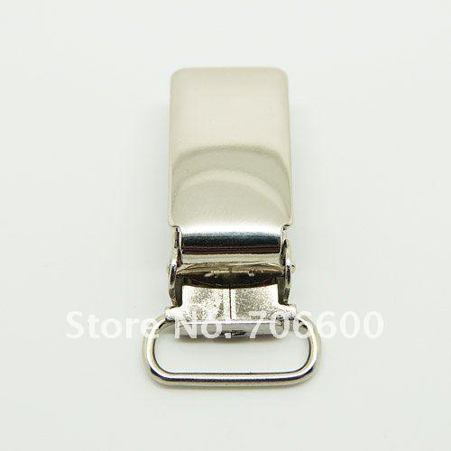 500 шт за лот 16 мм новые подвесные прищепки с яркая, никелевая металлическая соска зажимы