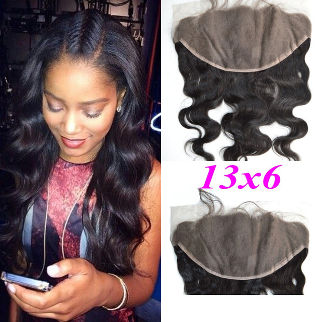 Cheapest Malaysian Best 13X6 Lace Frontal Closure Body Wave Hair Ear To Ear  Swiss Lace Frontal Hair Piece With Baby Hair 1bcb0a6cab97